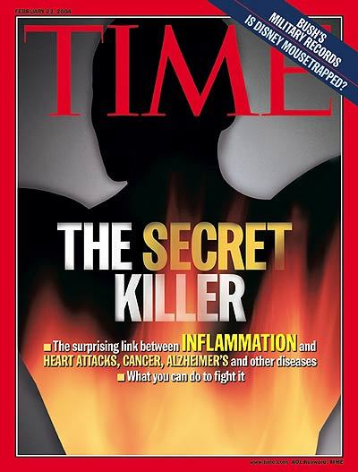 time magazine cover highlighting the dangers of inflammation