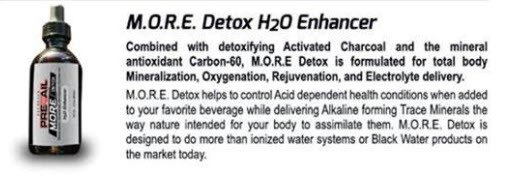 New Product by Valentus M.O.R.E. Detox
