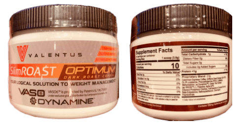 New Valentus Products Slimroast Optimum with Dynamine