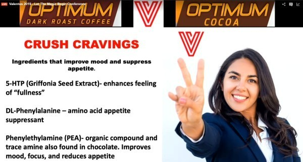Valentus Weight Loss Coffee Crushes Cravings