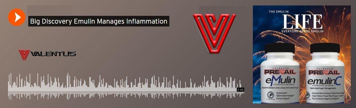 Joe Ahrens Emulin Manages Inflammation