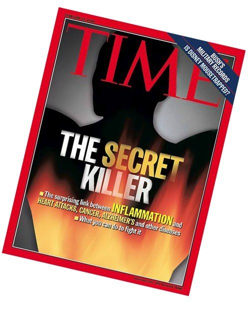 Time Magazine Cover inflammation Kills